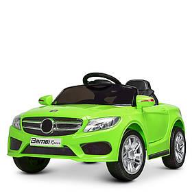 Дитячий електромобіль Mercedes (2 мотора, MP3, USB, FM) Bambi M 2772EBLR-5 Зелений