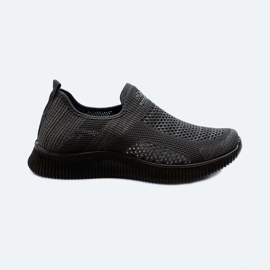 Мужские летние кроссовки текстильные серые без шнурков
