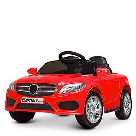 Дитячий електромобіль Mercedes (2 мотора, MP3, USB, FM) Bambi M 2772EBLR-3 Червоний