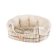Софа для собак и кошек Ferplast ETOILE 60 х 50 х h 21 см - 4, Бежевый