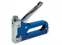 Степлер металлический 4-14 мм, синий, MasterTool