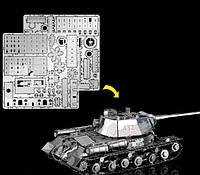 3D puzzle 3D пазл танк JS2 металлический