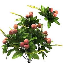 Цветы декоративные искусственные стильные Персик