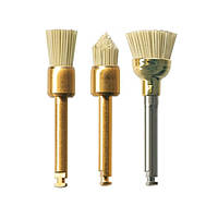 Щіточка БрашГлосс (BrushGloss, NTI), золота, 1шт., фото 1
