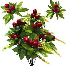 Искусственные цветы Черешня на ветке