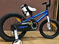 Детский двухколесный велосипед RoyalBaby Freestyle 20 дюймов, синий . Для детей 7-12 лет