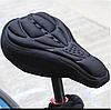Чехол накладка силиконовый Velos на велосипедное сиденье Черный 280*170мм