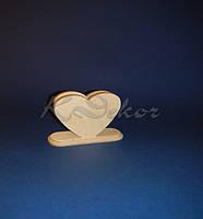 Заготовка салфетница Сердце