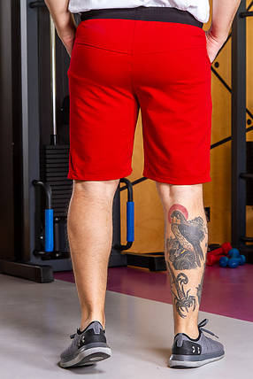 Шорты  мужские  807 красный, фото 2