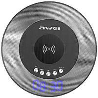 Портативная Bluetooth колонка Awei Y290 с функцией беспроводной зарядки QI D152
