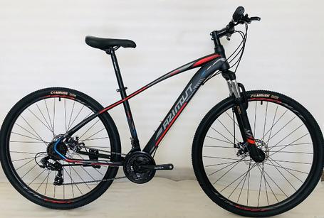 """Горный велосипед Azimut Nevada 29""""  размер рамы 17"""" черно-красный, фото 2"""