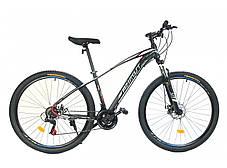 """Горный велосипед Azimut Nevada 29""""  размер рамы 17"""" черно-красный, фото 3"""