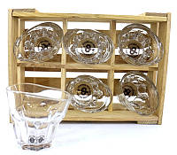 Набор пьяных стаканов для виски