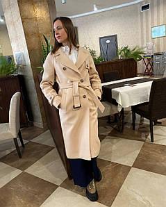 Женское весеннее пальто тренч