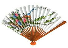 Веер бамбуковый Восточные мотивы