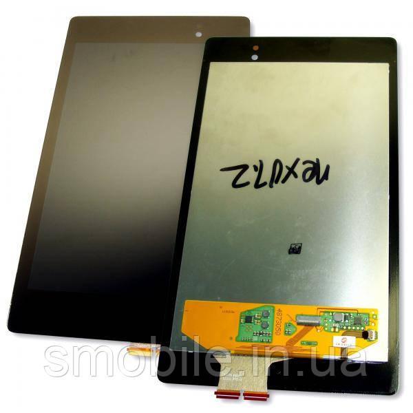 Asus Дисплей Asus ME571K Google Nexus 7 II + сенсор чорний (матриця оригінал / сенсор копія)
