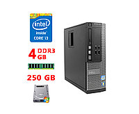 Стаціонарний компютер Dell Optiplex 3010 SFF (Core I3-3220 / 4Gb / HDD 250Gb)