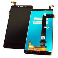 Дисплей Xiaomi Redmi Note 2 с сенсором, черный (оригинал Китай), фото 1