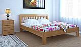 """Двуспальная кровать """"Роксана"""" из дерева (массив бука), фото 2"""