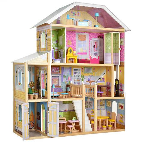 Деревянная игрушка Домик для куклы MD 2675, фото 2