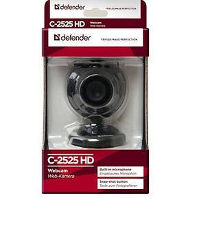 Web камера Defender G-lens 2525HD 2МП №63252