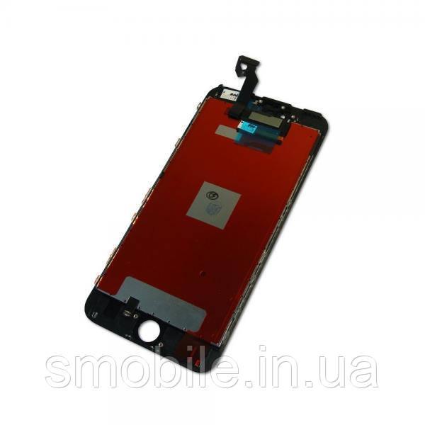 Дисплей iPhone 6S Plus с сенсором и рамкой, черный (копия AAA)