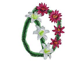 Вінок лілія 7 квітів ТМ ЗАПАДНАЯ