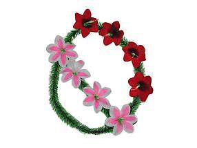 Вінок лілія 8 квітів ТМ ЗАПАДНАЯ