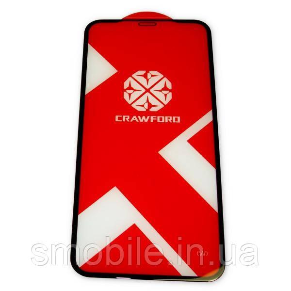 XO Захисне і загартоване скло XO FD7 для iPhone XR / iPhone 11 повноекранне чорне 0.26 мм 3D (тих-упаковка)