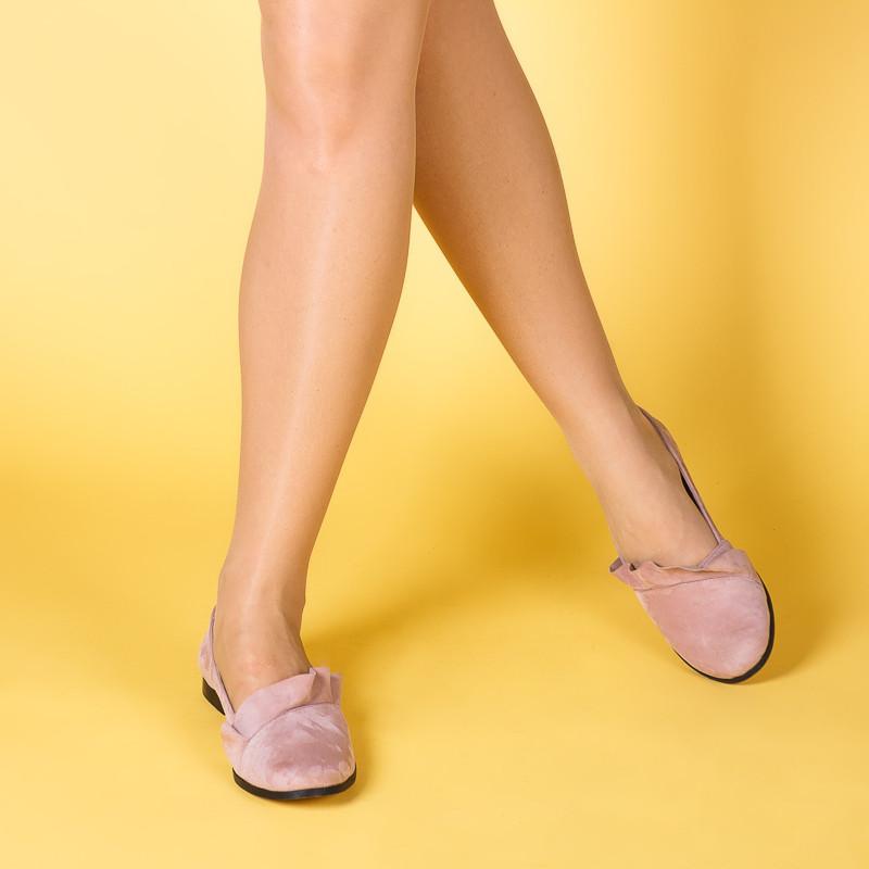 Женские пудровые замшевые легкие туфли. Цвет любой под заказ