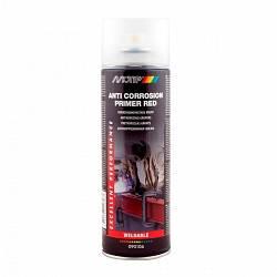 """Антикорозійний Грунт Motip """"Anti corrosion primer red"""" , 500 мл Аерозоль червоний"""