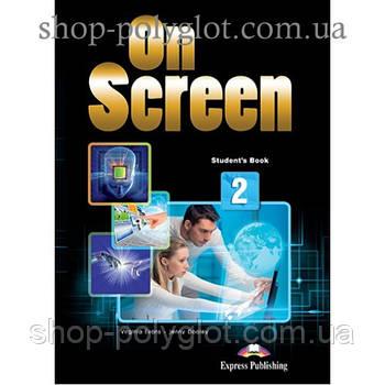 Підручник англійської мови On screen 2 student's Book (with Digibooks App)
