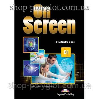 Підручник англійської мови On Screen B1 student's Book (with Digibooks App)