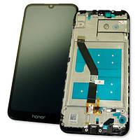 Huawei Дисплей Huawei Honor 8A + сенсор і рамка - чорний (оригінальні комплектуючі), фото 1
