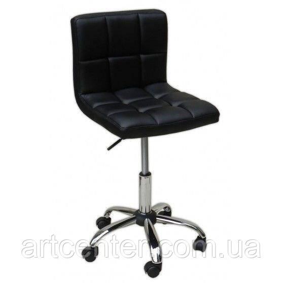 Косметическое кресло Sity, на колесах, регулируется по высоте, кожзам