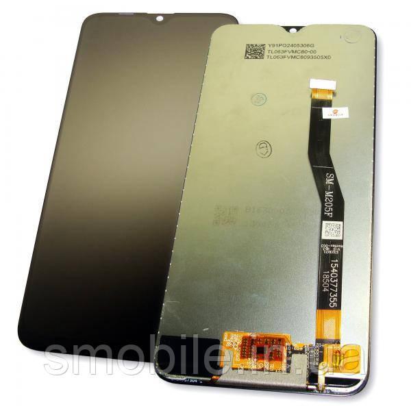 Samsung Дисплей Samsung M205F M205G Galaxy M20 + сенсор чорний (оригінал Китай)
