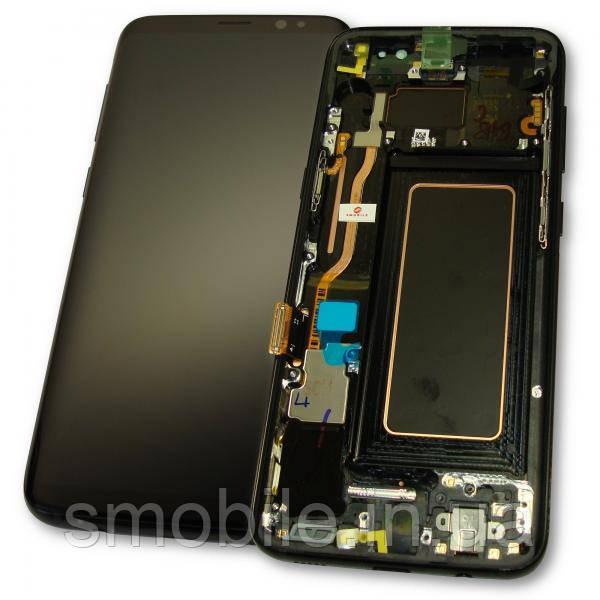 Samsung Дисплей Samsung G950F G950FD Galaxy S8 + сенсор і рамка, чорний GH97-20457A (оригінал 100%)