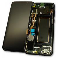Samsung Дисплей Samsung G950F G950FD Galaxy S8 + сенсор і рамка, чорний GH97-20457A (оригінал 100%), фото 1
