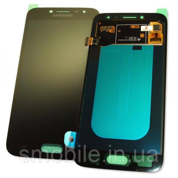 Дисплей Samsung J250F J250G Galaxy J2 2018 с сенсором, черный GH97-21339A (оригинал 100%)