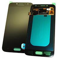 Дисплей Samsung J250F J250G Galaxy J2 2018 с сенсором, черный GH97-21339A (оригинал 100%), фото 1