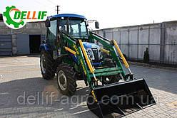 Мини-погрузчик Dellif Baby 500 на трактор DW-404, Solis -  с джойстиком