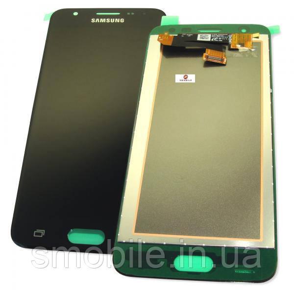 Samsung Дисплей Samsung G570F Galaxy J5 Prime з сенсором, чорний GH96-10325A (оригінал 100%)
