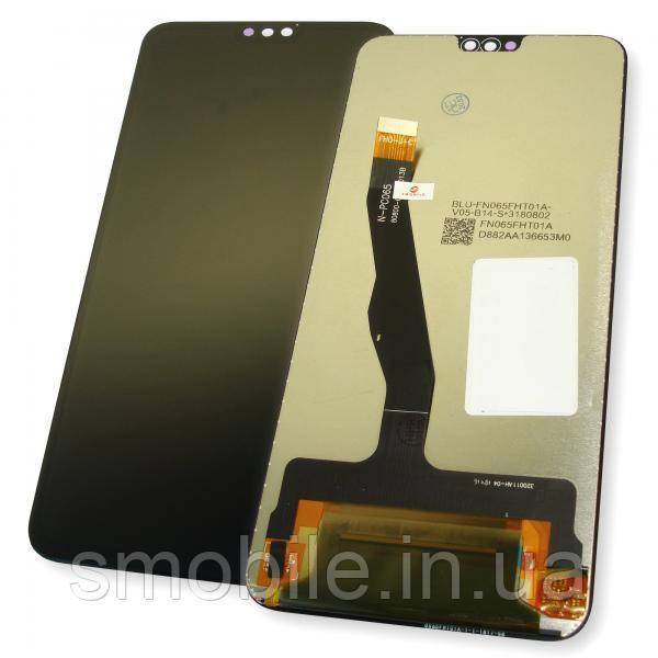 Дисплей Huawei Honor 8X с сенсором, черный (копия ААА)