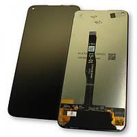 Huawei Дисплей Huawei P40 Lite / Nova 6 SE + сенсор чорний (оригінальні комплектуючі), фото 1