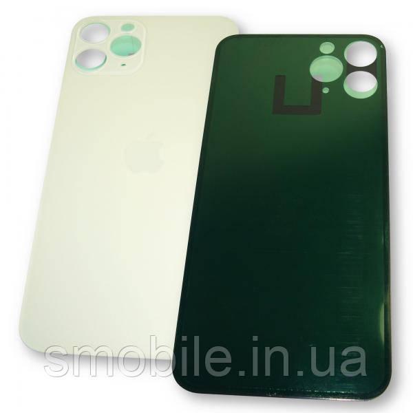 Стекло задней крышки iPhone 11 Pro белое