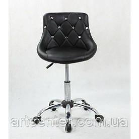Косметичне крісло Zara, на колесах, регулюється по висоті, кожзам