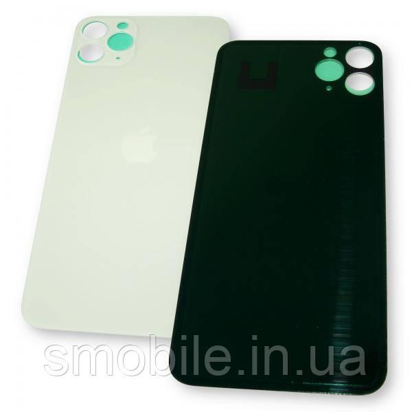 Стекло задней крышки iPhone 11 Pro Max белое