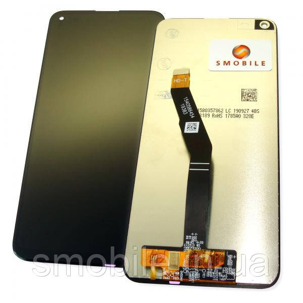 Huawei Дисплей Huawei P40 Lite E / Y7p 2020 + сенсор чорний (копія ААА)
