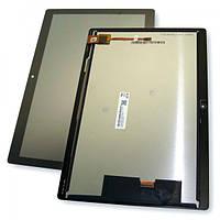 Дисплей Lenovo Tab M10 TB-X505L с сенсором, черный (оригинальные комплектующие), фото 1