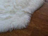 Необычный тройной ковер из высококачественной меховой овчины, фото 4
